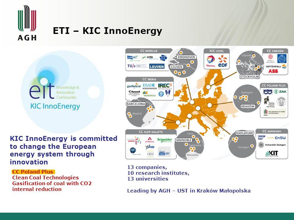 ETI – KIC InnoEnergy KIC InnoEnergy is committed to change the European. energy system through innovation.