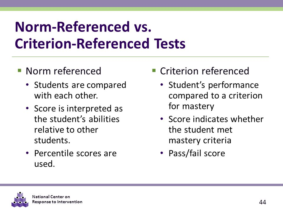 norm referenced and criterion referenced tests pdf