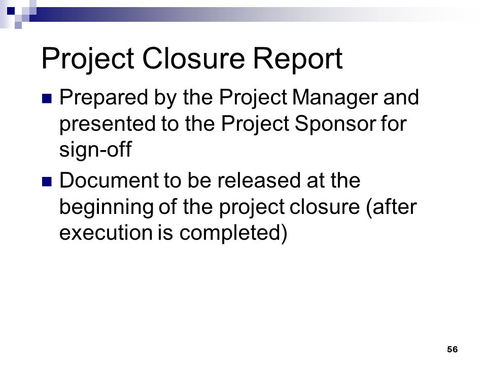 project closure Project closure - download as pdf file (pdf), text file (txt) or read online.