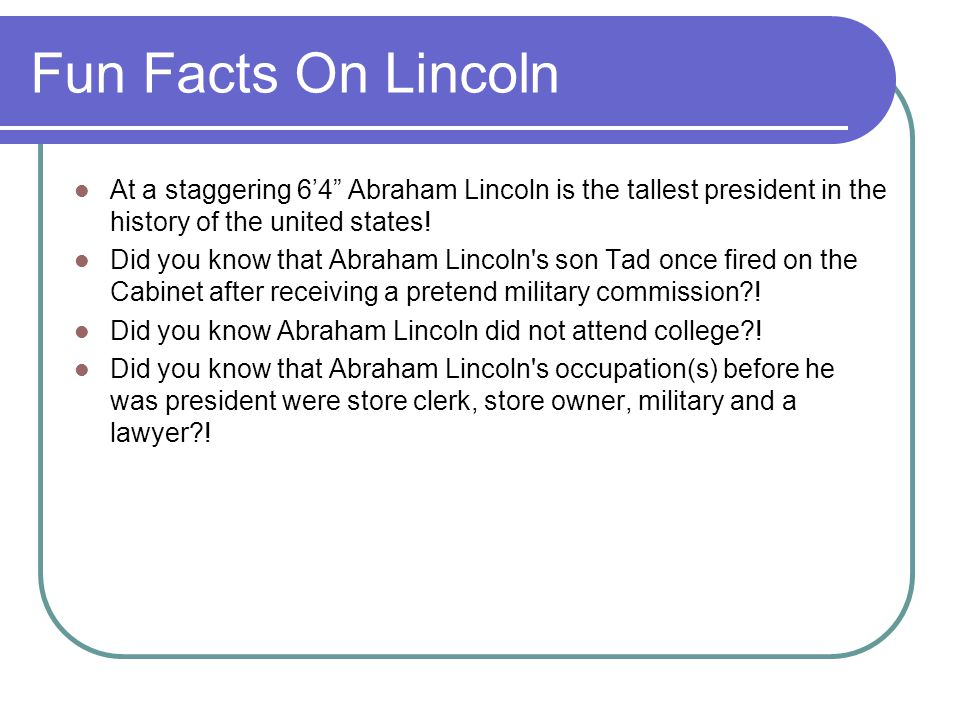 By shashank rajagopalan 5th hour ppt video online download for Fun facts about the presidents