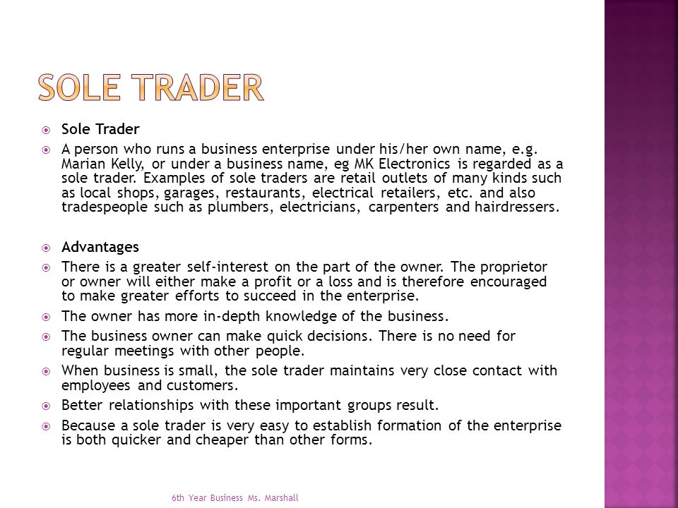 sole trader formation Should you incorporate, become an llc, or operate as a sole proprietor over  70 percent of us businesses are owned and operated by sole.