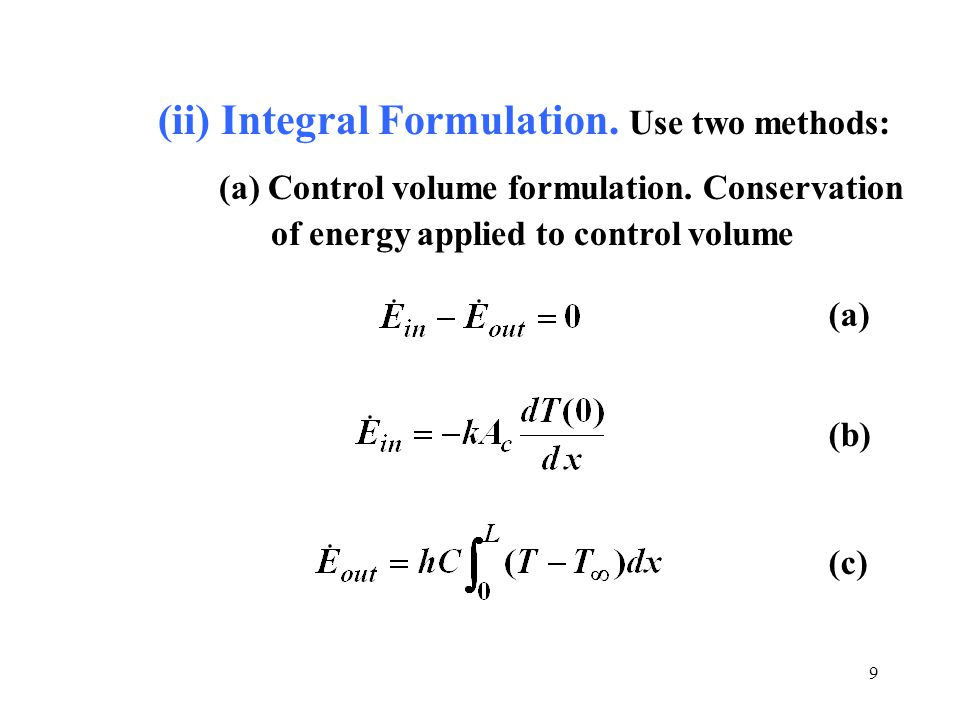 differential and integral heat of solution One is formulated for an infinitesimal fluid particle (the differential form) whilst the   message: integral forms of conservation laws admit a wider solution space.