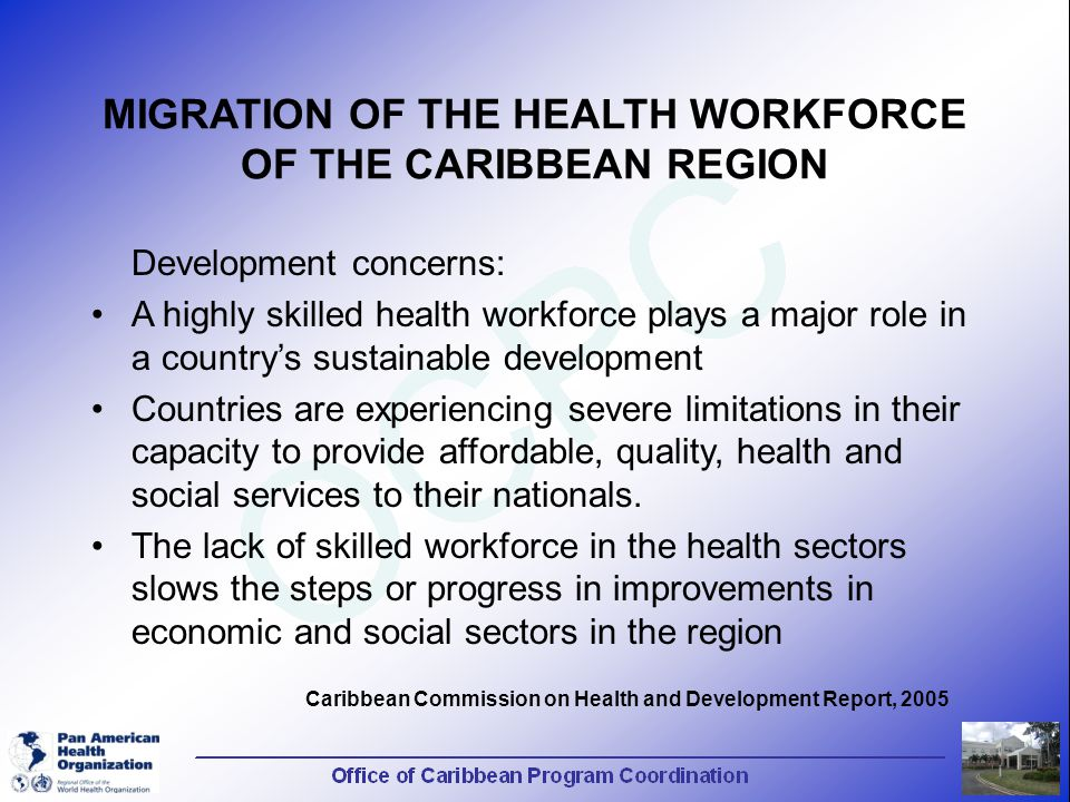 "major migrations into the caribbean essay The 'immigration problem' in barbados is significant particularly for two reasons  first, because of  in his essay ""race and economic power in jamaica"" carl."