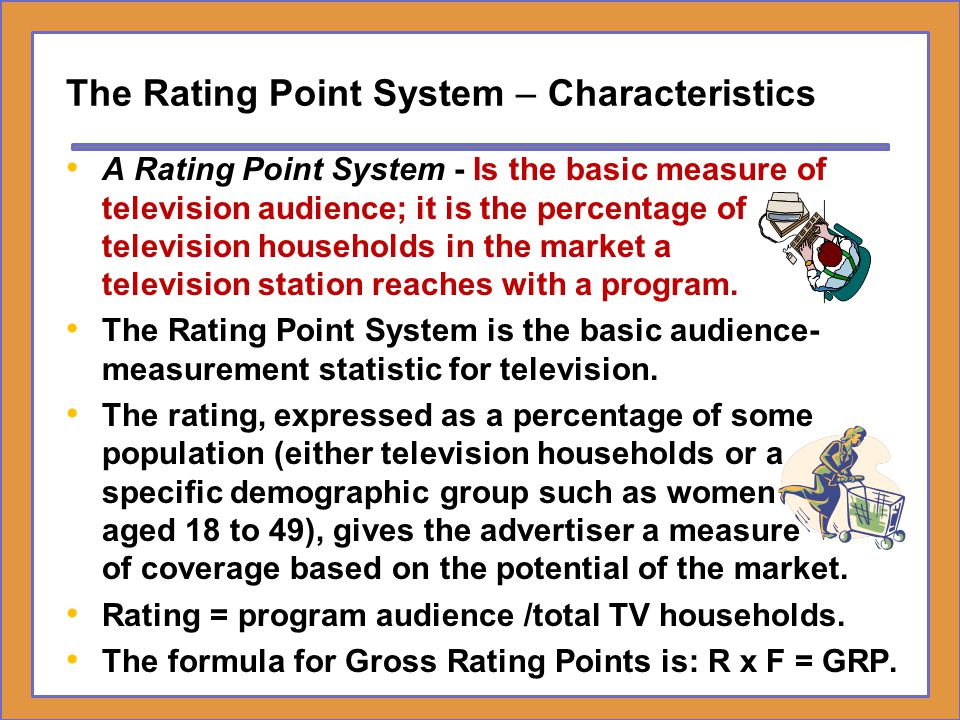 The Rating Point System – Characteristics