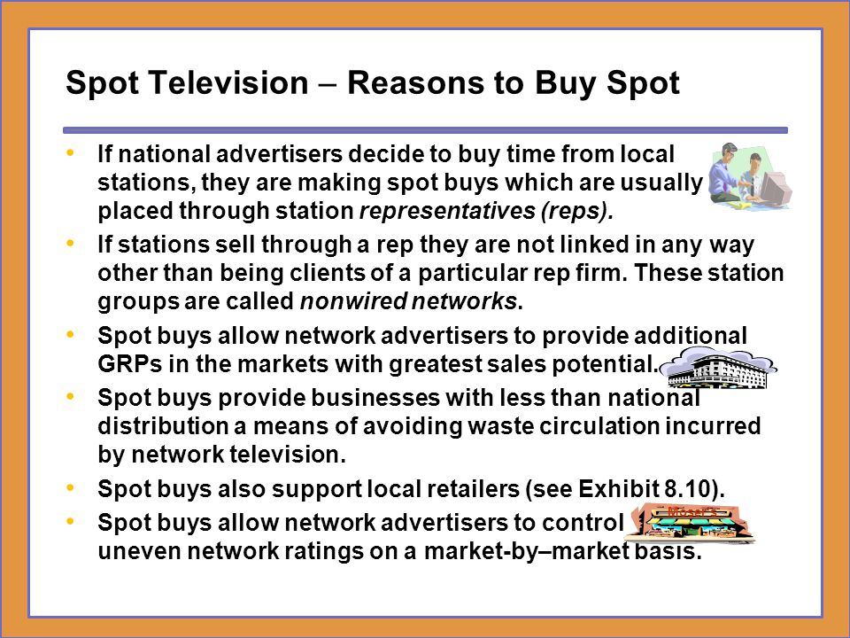 Spot Television – Reasons to Buy Spot