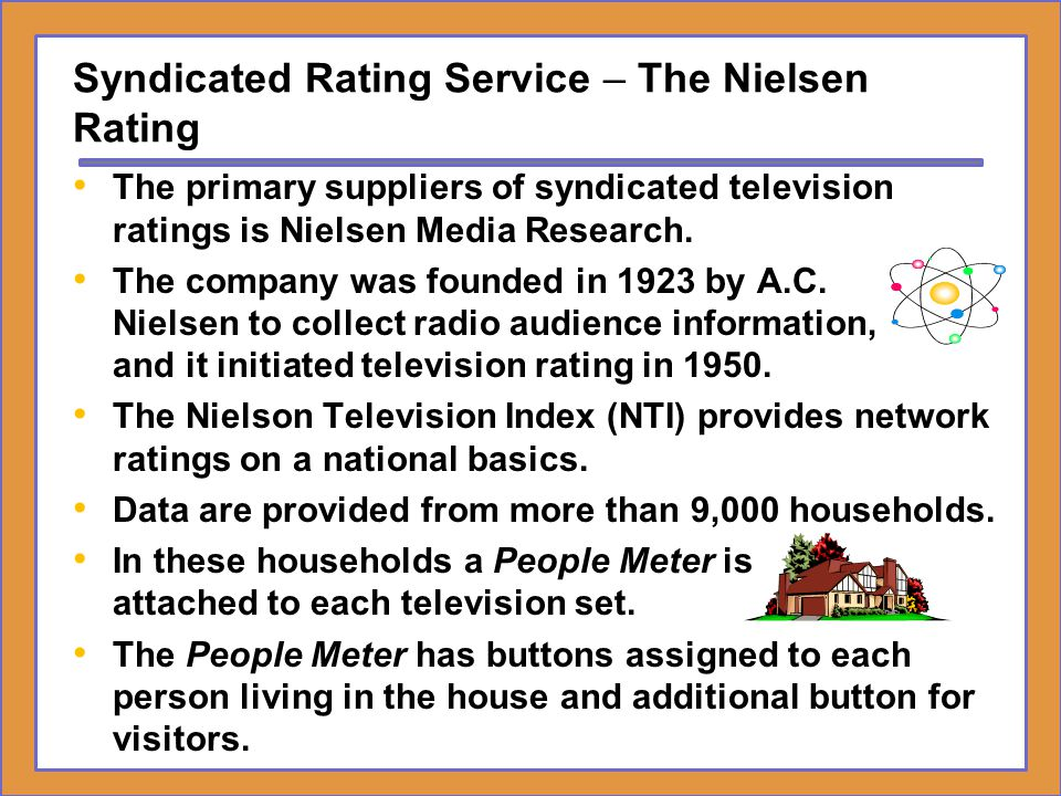 Syndicated Rating Service – The Nielsen Rating
