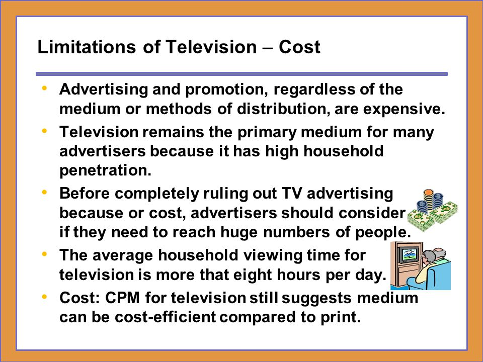 Limitations of Television – Cost