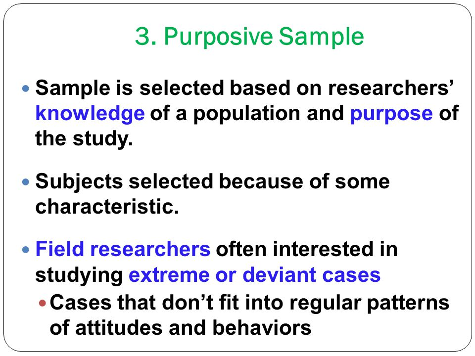 sampling approaches in research Sampling is an important component of any piece of research because of the significant impact that it can have on the quality of your results/findings if you are new to sampling, there are a number of key terms and basic principles that act as a.