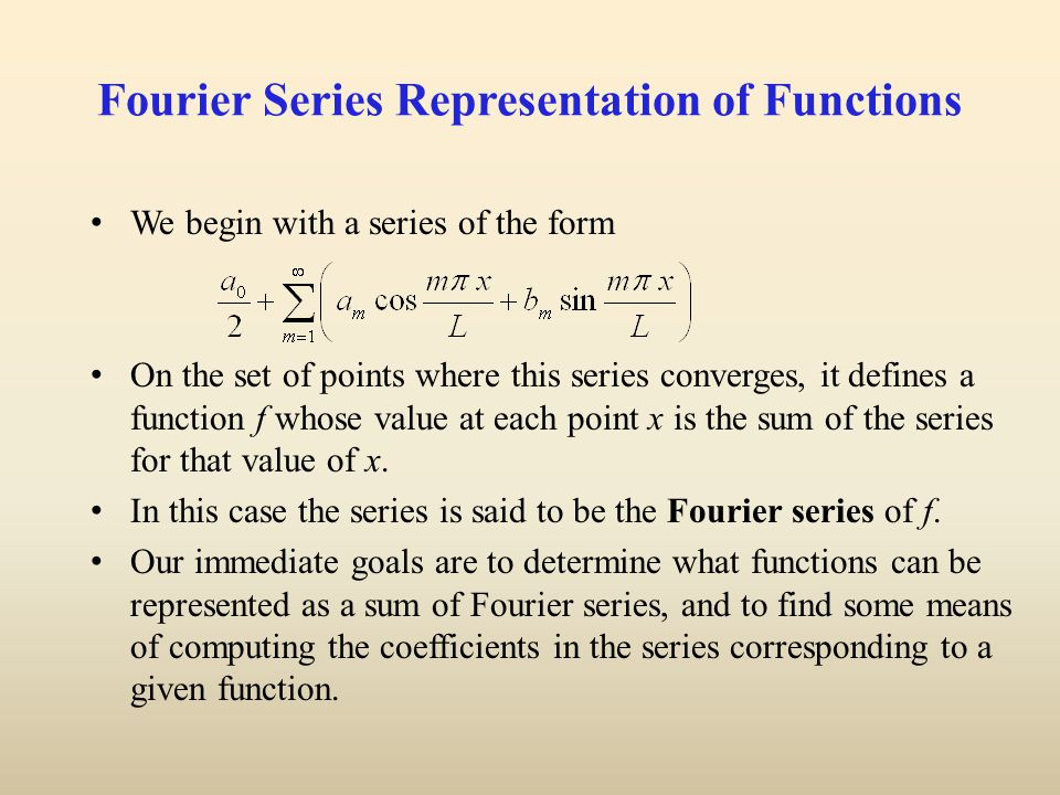 properties of fourier series pdf
