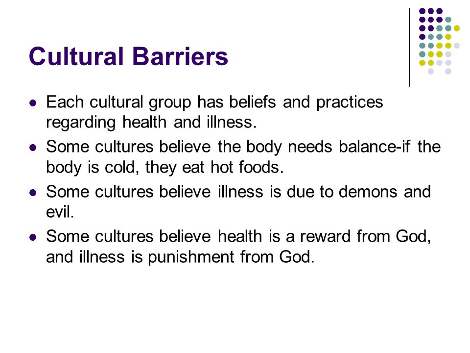 cultural barriers to communication examples