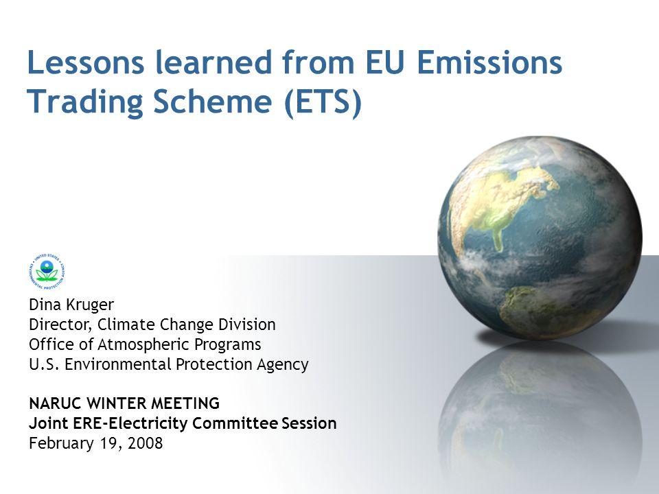 European union emissions trading system (eu ets)