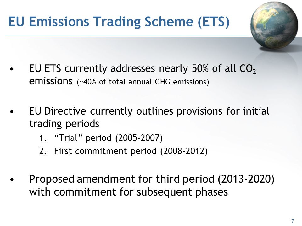 Emissions trading system europe