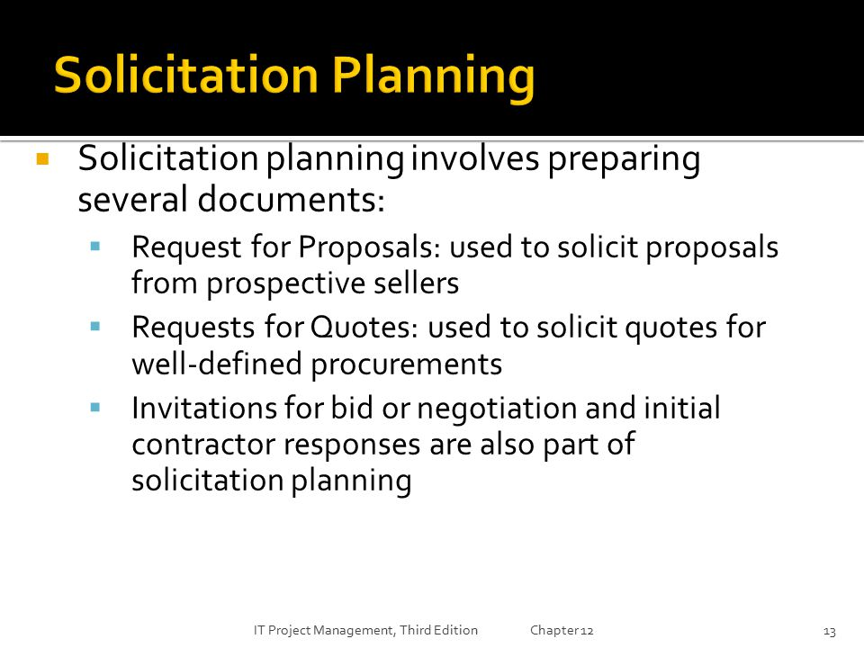 Lecture 9 project procurement management ppt download for Project planning quotes