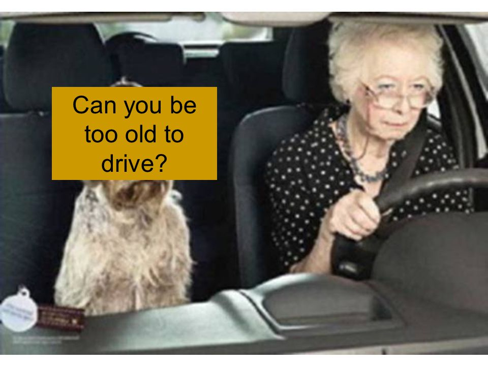 Senior Driving: When Are You Too Old to Drive?