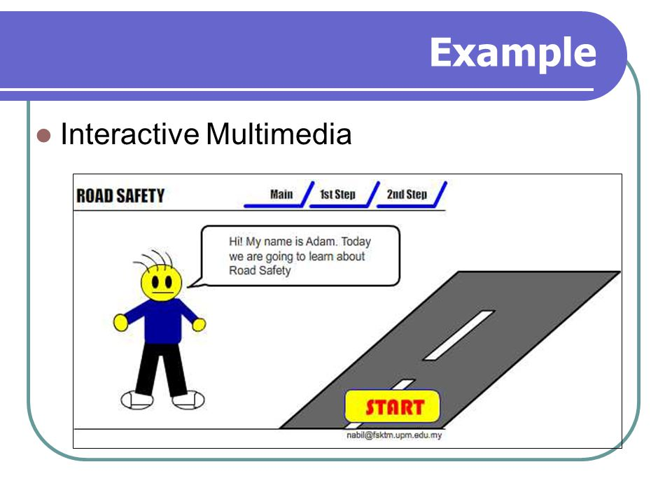 Example Interactive Multimedia