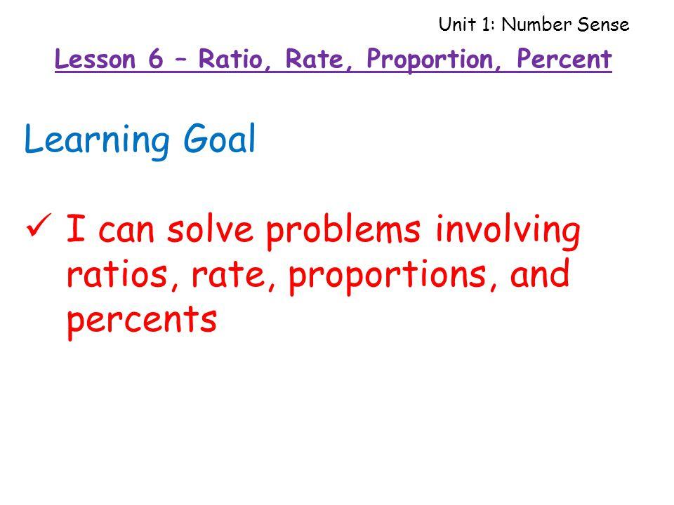how to solve ratio problems pdf