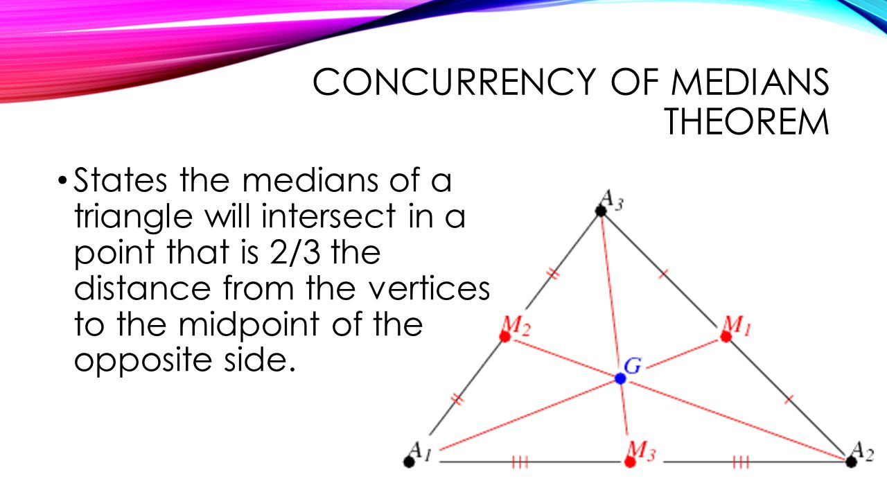 Relationships within triangles ppt video online download – Medians of a Triangle Worksheet