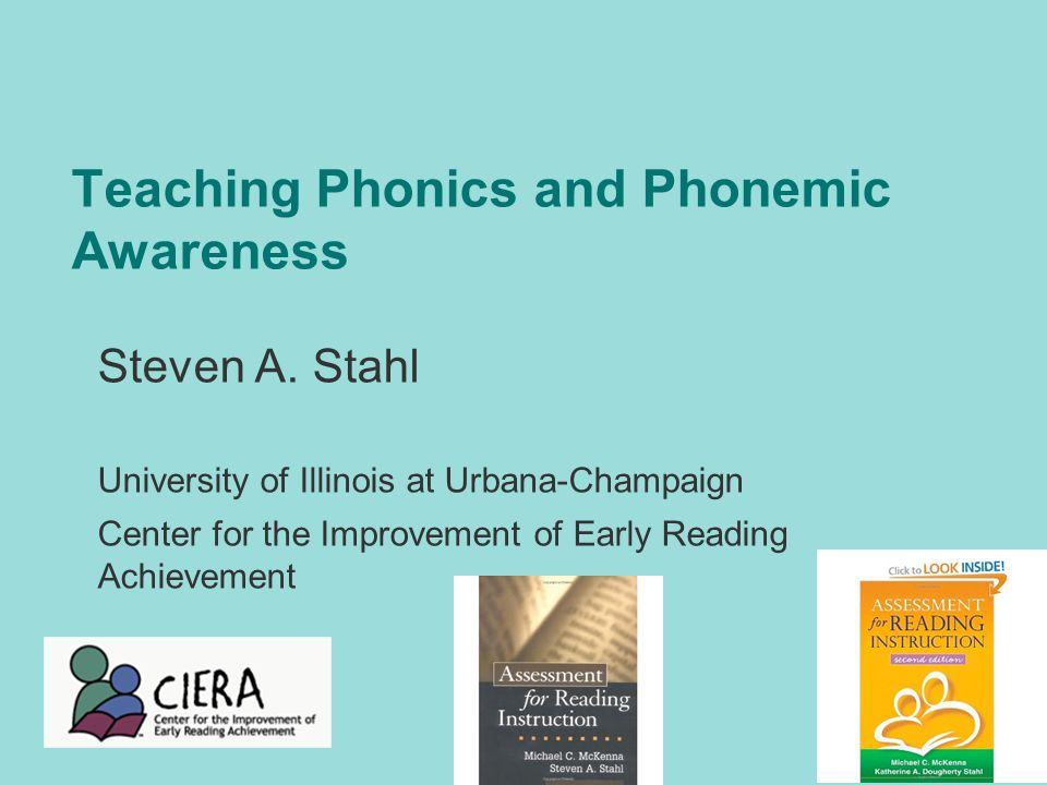 outline for teaching phonics and promote phonemic awareness