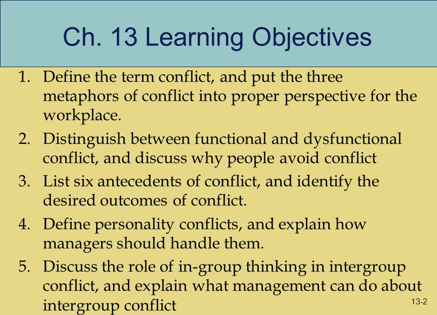 conflict how to solve conflict between 2 people