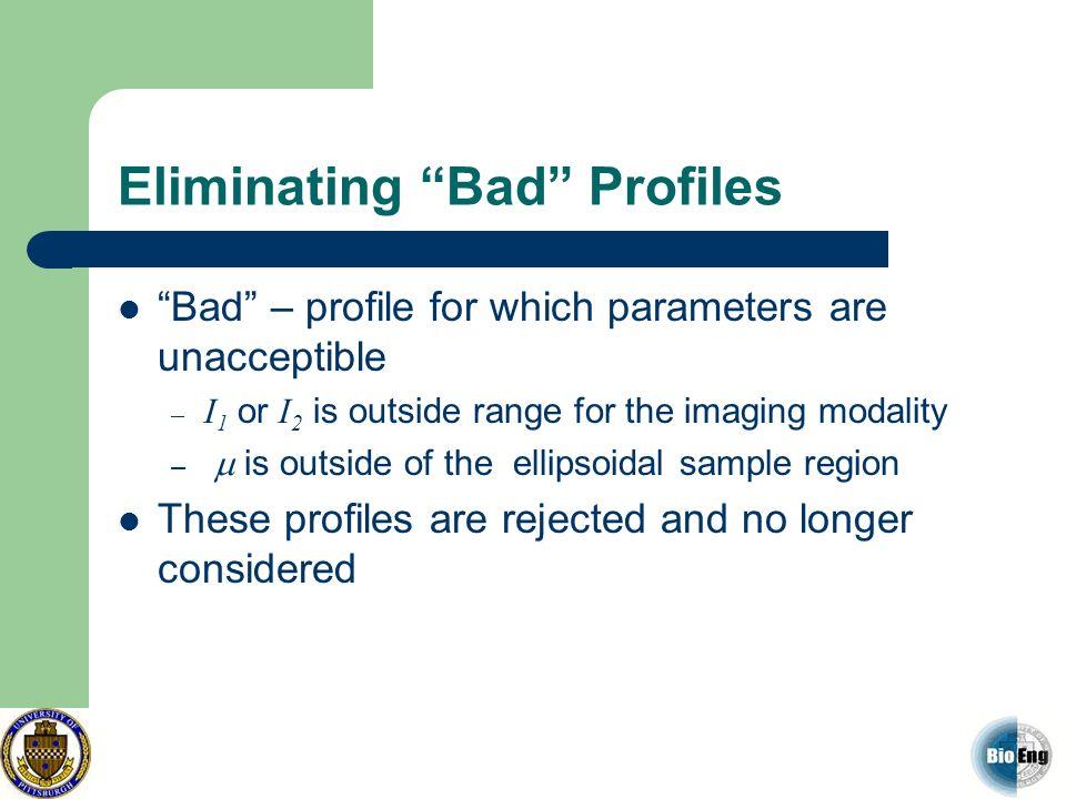 Eliminating Bad Profiles