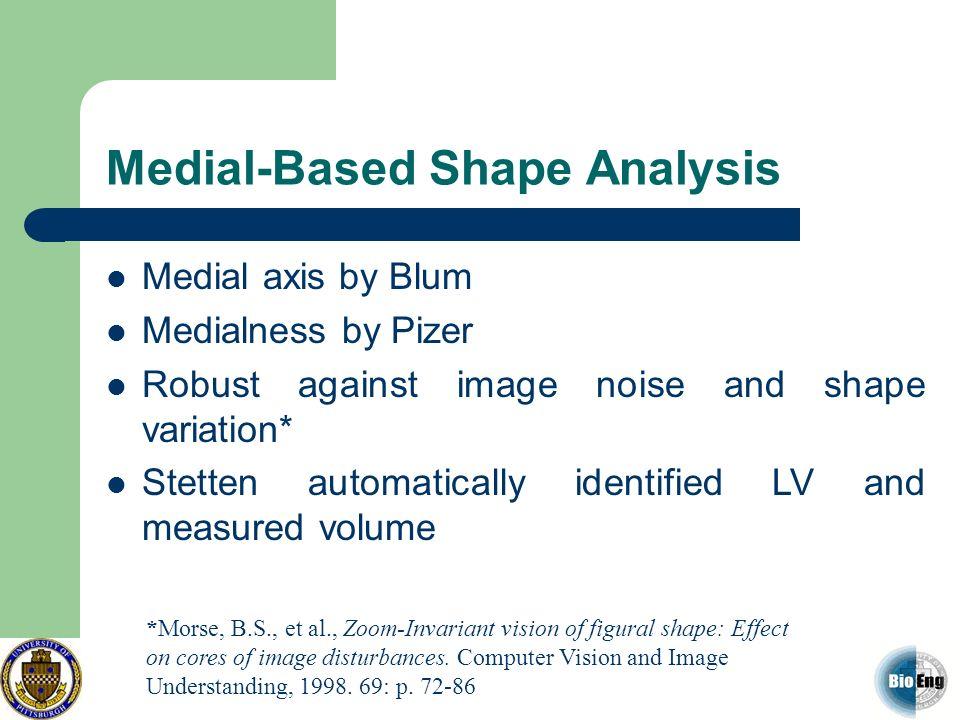 Medial-Based Shape Analysis