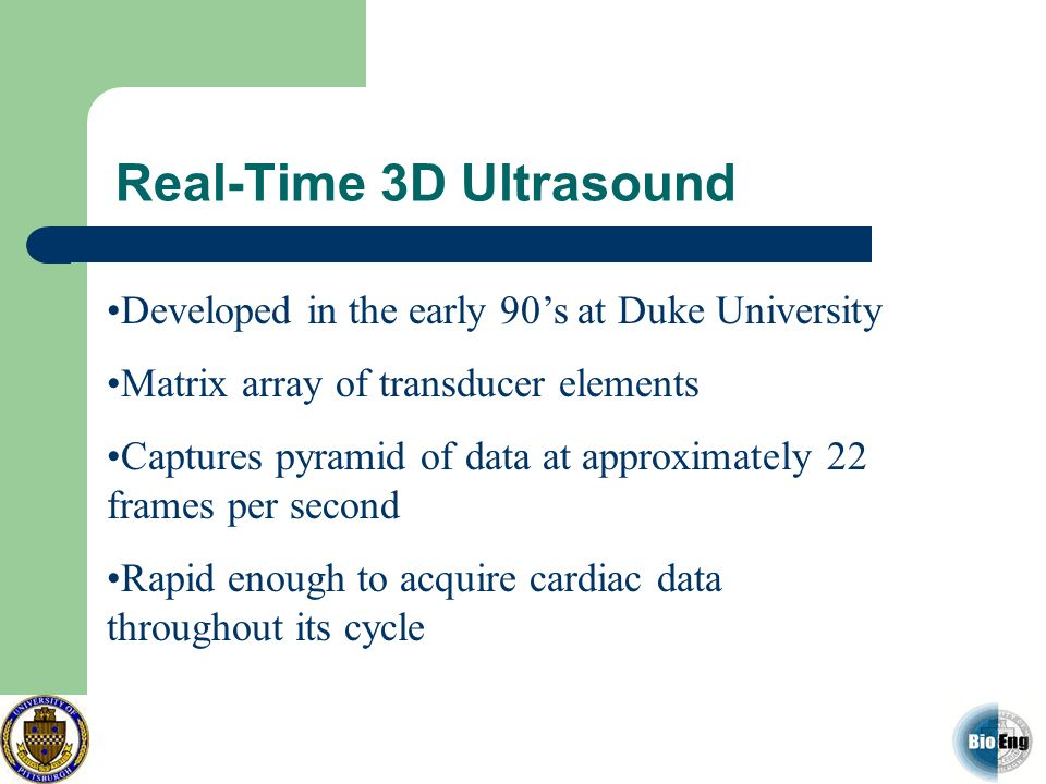 Real-Time 3D Ultrasound