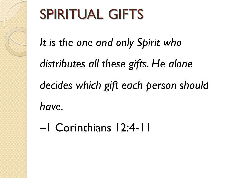 Treasuring the gift within you ppt video online download spiritual gifts negle Images