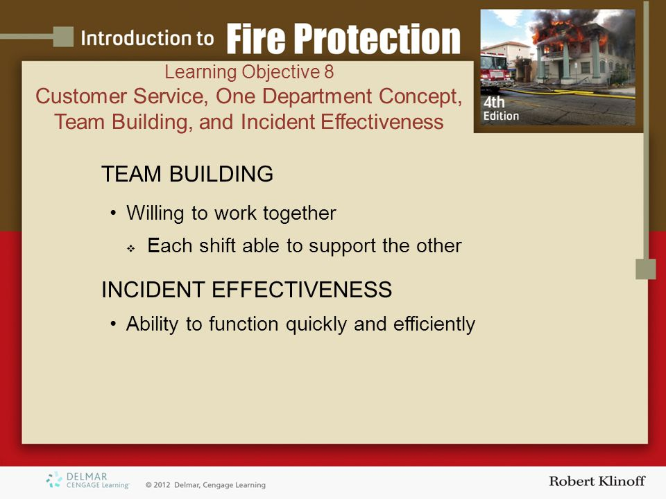 INCIDENT EFFECTIVENESS
