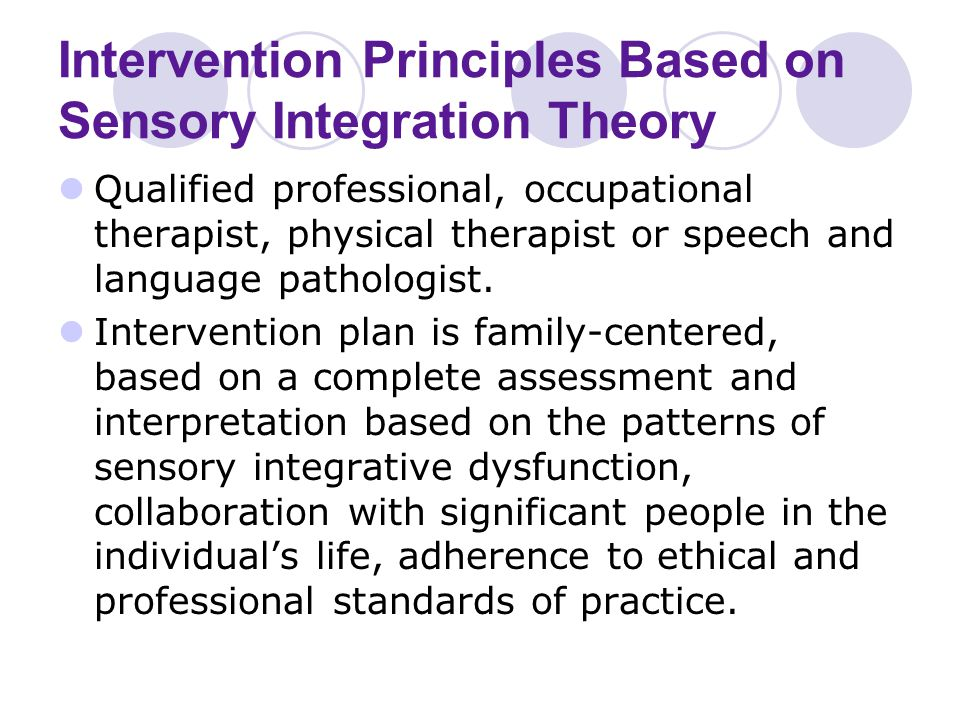 effects of sensory interventions essay Southern illinois university carbondale opensiuc research papers graduate school summer 7-1-2015 physical activity and it's effects on sensory processing in children with autism spectrum.