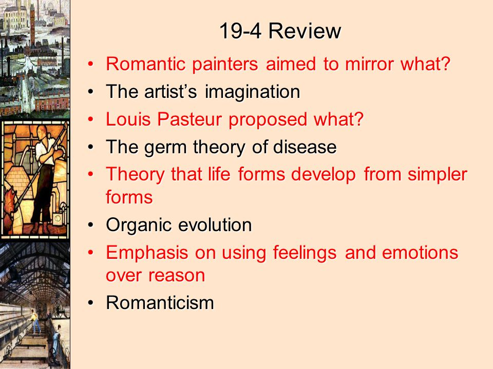 Romanticism And Realism Ppt Video Online Download