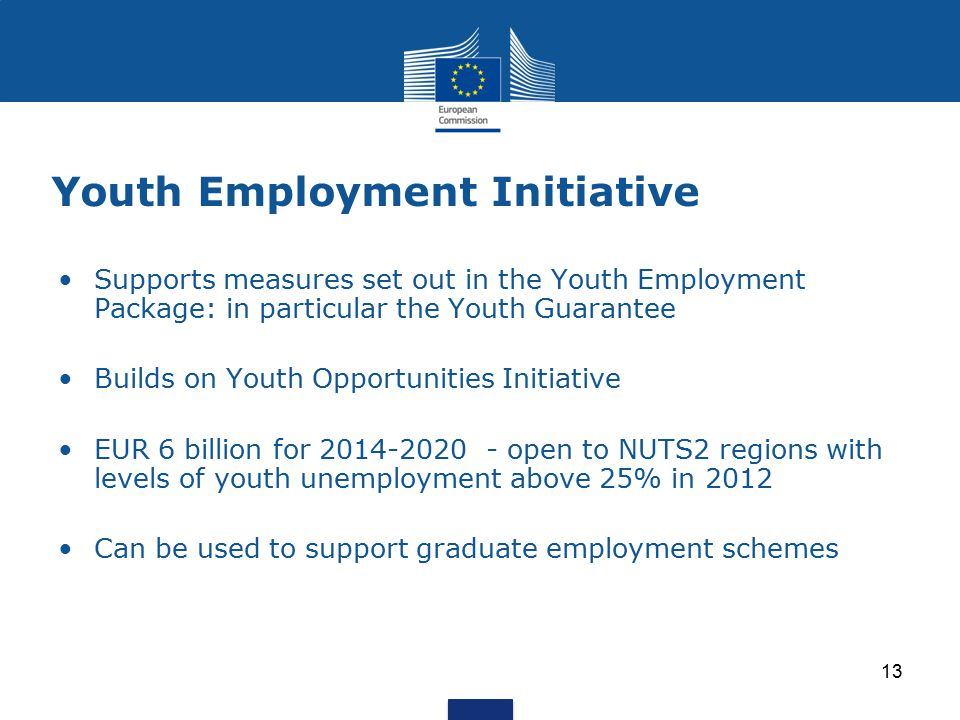 Youth Employment Initiative