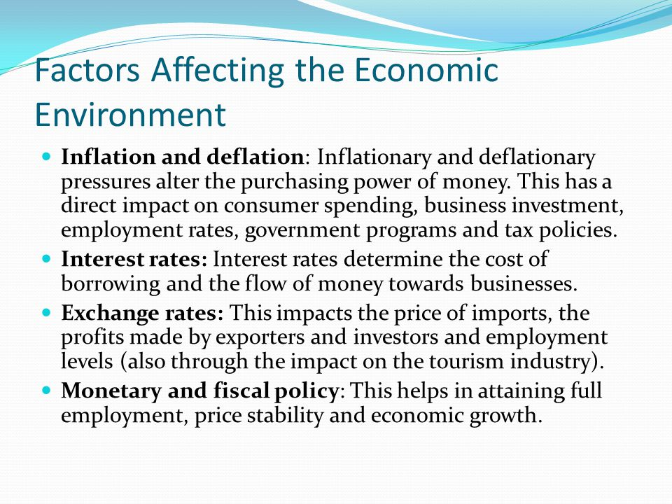 investments meant for inflationary and deflationary locations essay