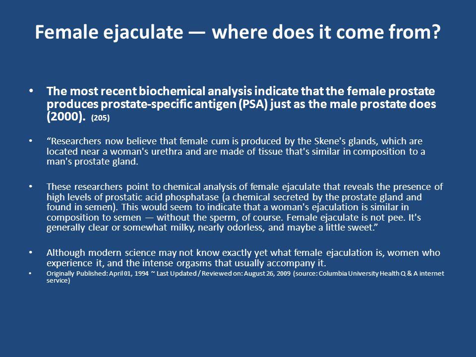 Female ejaculation - Wikipedia