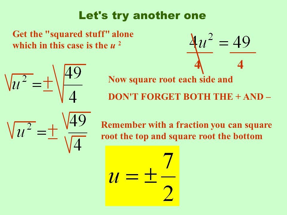 A196 Simplifying Square Roots With Fractions - YouTube