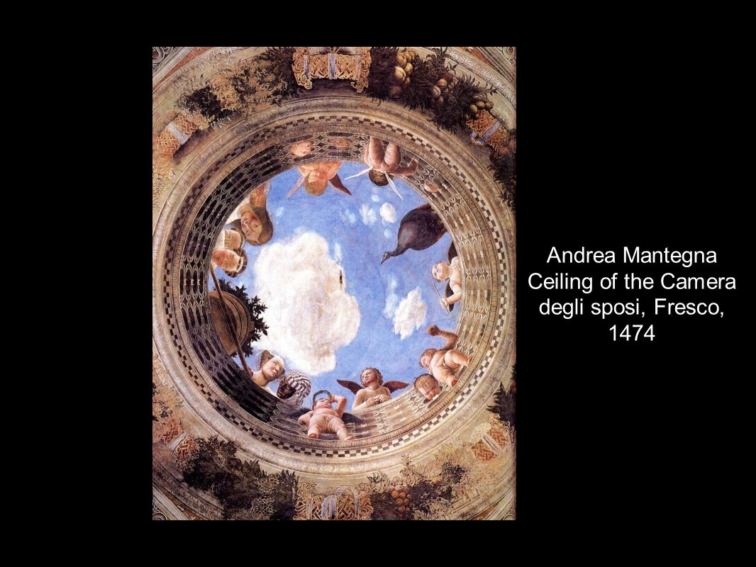 The renaissance 9 1 renaissance means rebirth ppt download for Andrea mantegna camera degli sposi