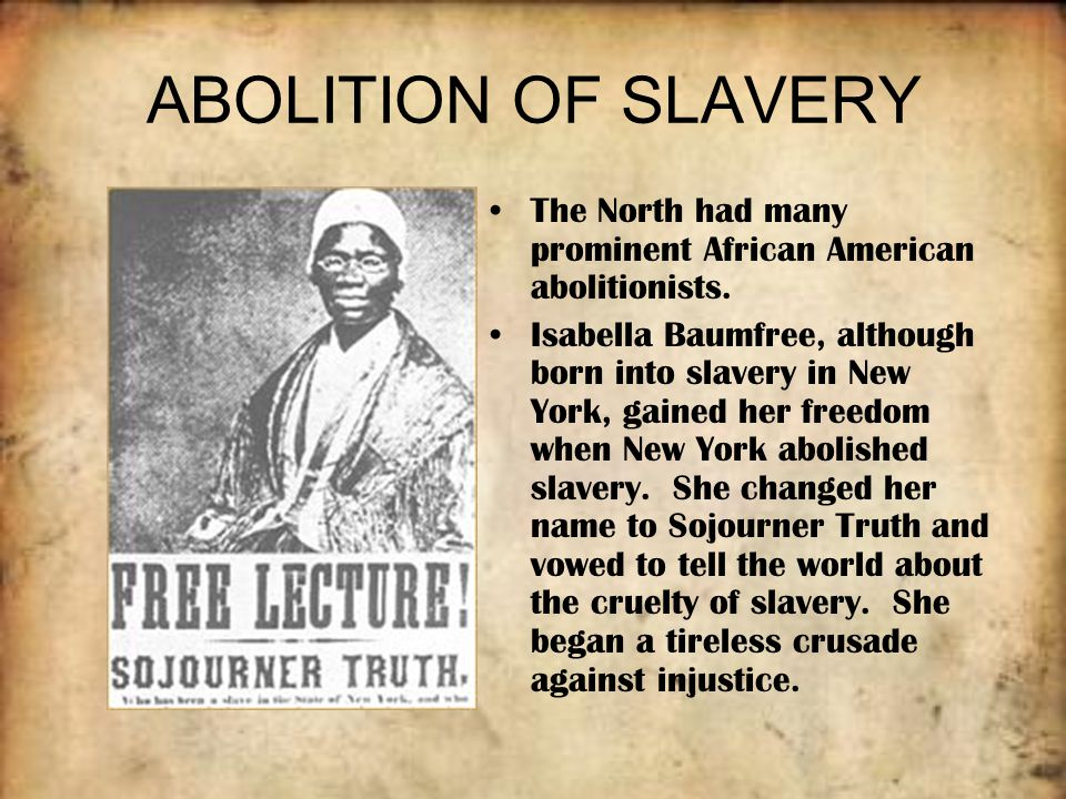 the abolition of slavery in the united states a history of frederick bailey Yale university's gilder lehrman center for the study of slavery, resistance, and abolition today has announced the finalists for the 20th annual frederick douglass book prize, one of the most coveted awards for the study of the african american experience.