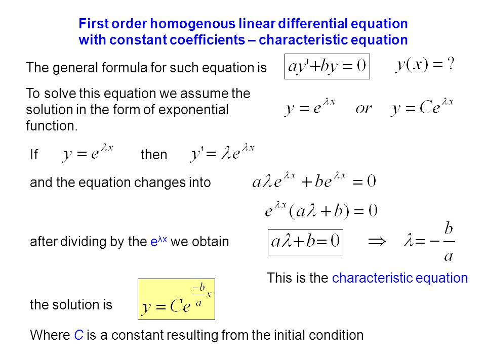 solution of differential equation pdf