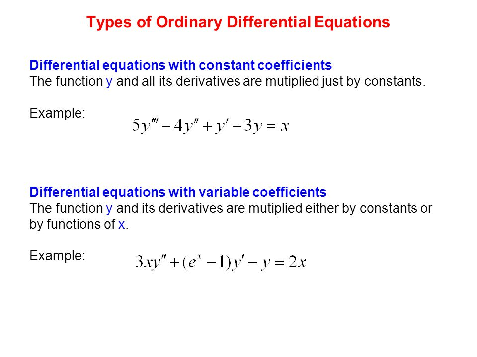 parameters are known constant values that are usually coefficients of variables in equations Variable: unknown quantities, usually represented by english letters coefficients: the numbers associated with variables terms: the combinations of constants and variables expressions: more than one terms equations: expressions with equality sign there are many queries which may arise into the minds of students who are quite new to algebra.