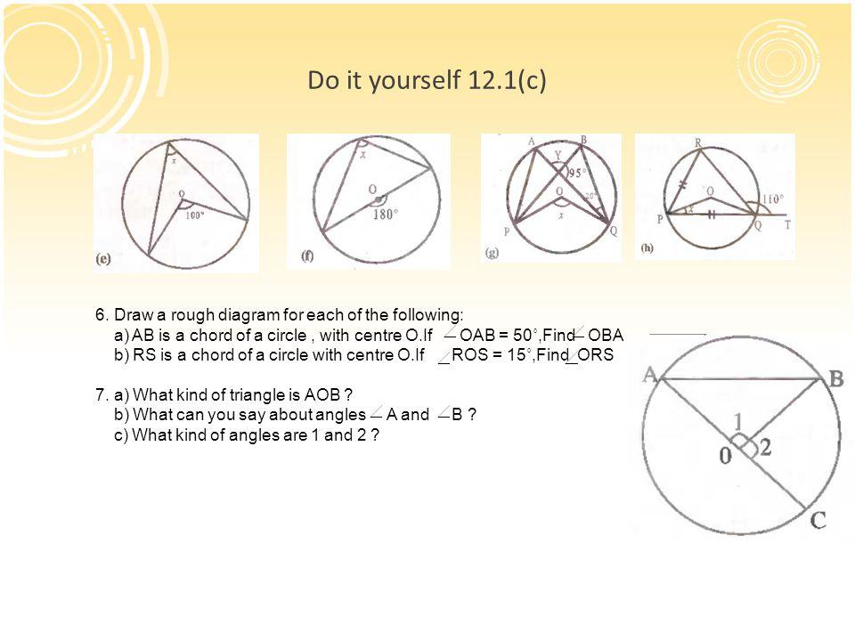 Chapter-12 CIRCLES MATH CLASS ppt download