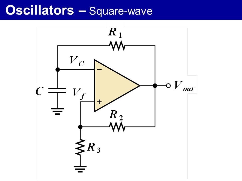 Oscillators – Square-wave