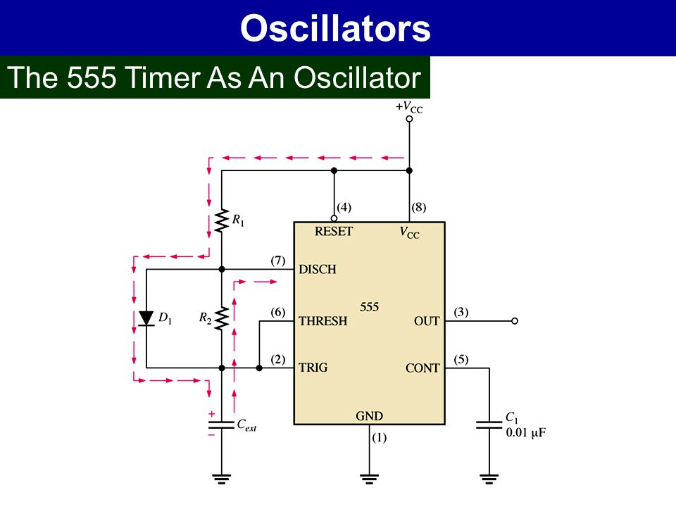 Oscillators The 555 Timer As An Oscillator