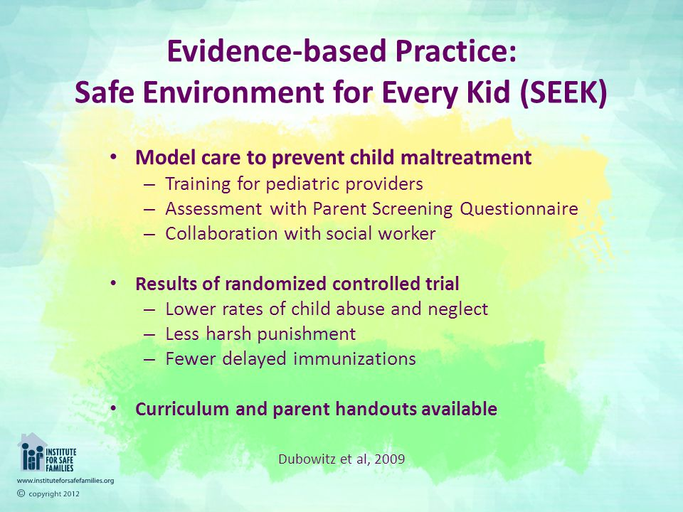 safe practice and environment