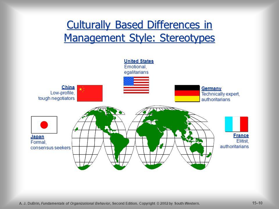 organization behavior stereotyping Recently published articles from organizational behavior and human decision processes.