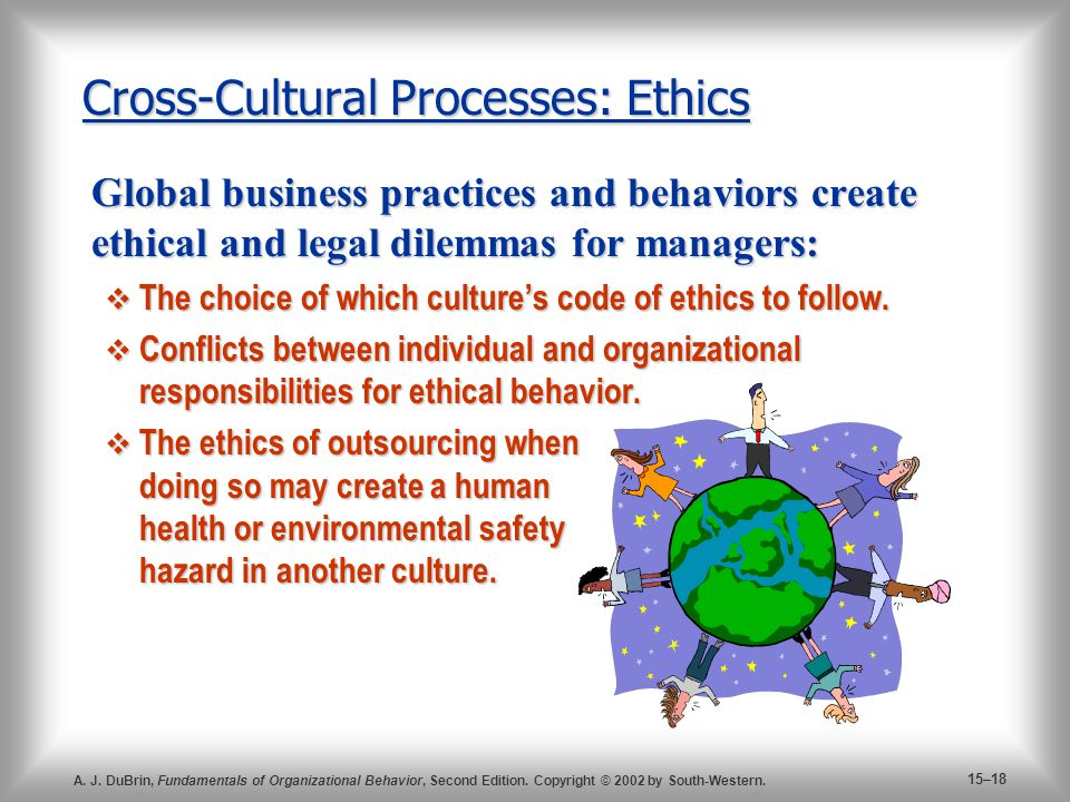 how does organizational culture affect ethics in a negotiation Negotiation personality if the organizational culture represents how we do things around here, the ethical culture represents how we do things around here in relation to ethics and ethical behavior in the organization the ethical culture represents the organization's.