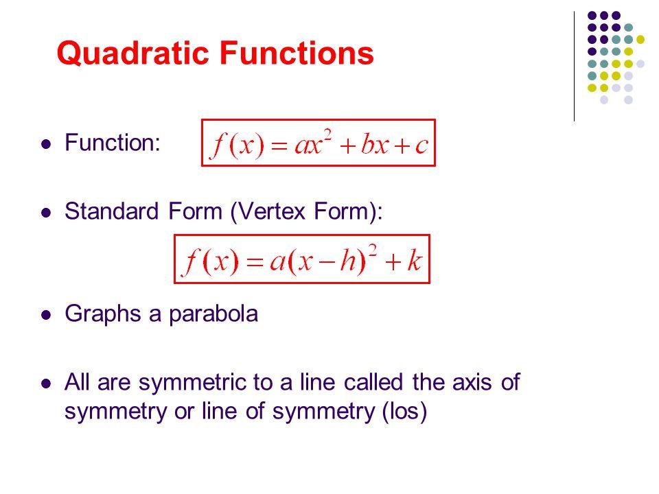 Parabolas In Standard Intercept And Vertex Form Studycom Mandegarfo