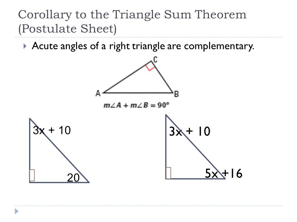 Applying Triangle Sum Properties Ppt Download