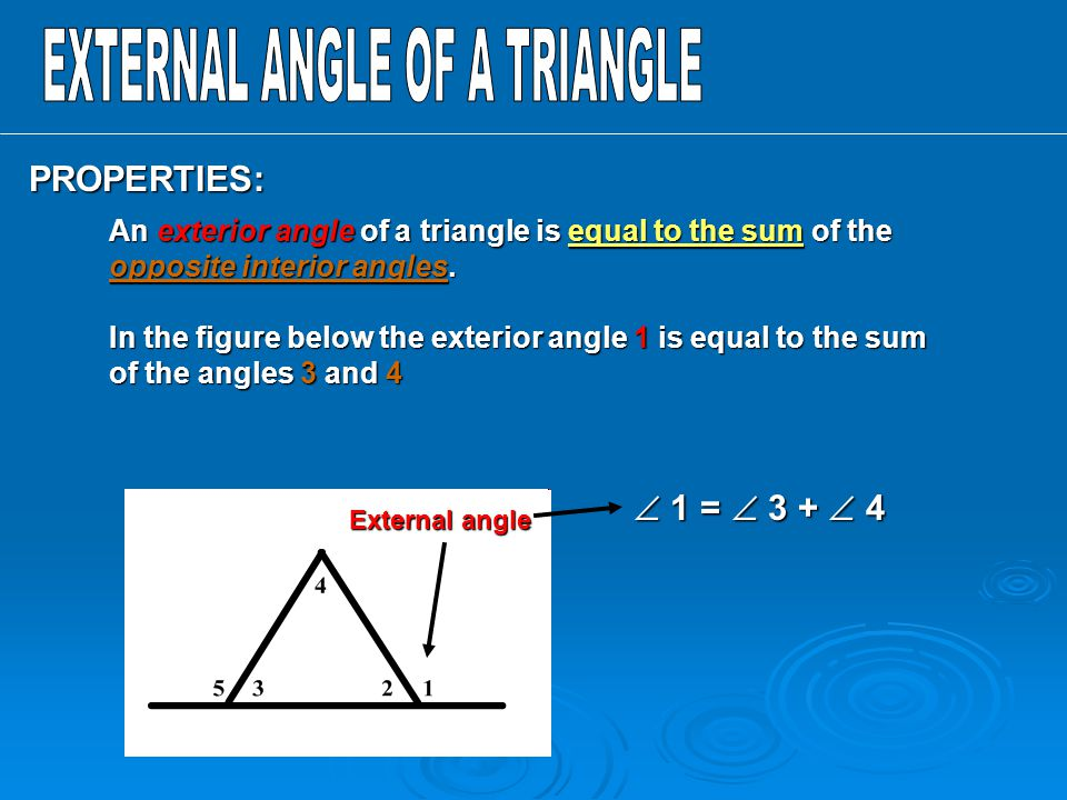 Angles In Triangles Lesson 16 3 Ppt Download