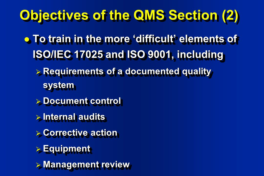 Quality Management Systems Qms For Laboratories