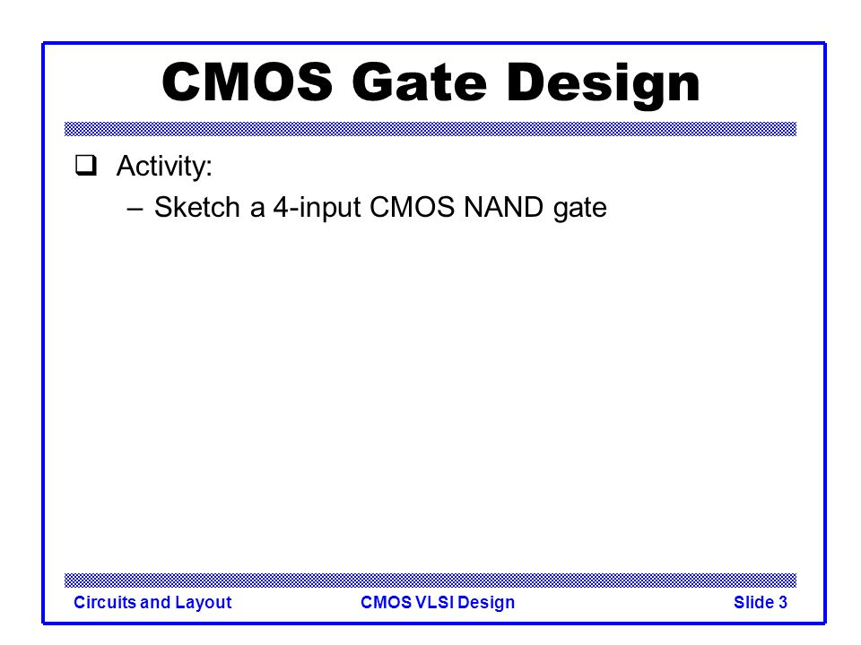 how to draw cmos circuits