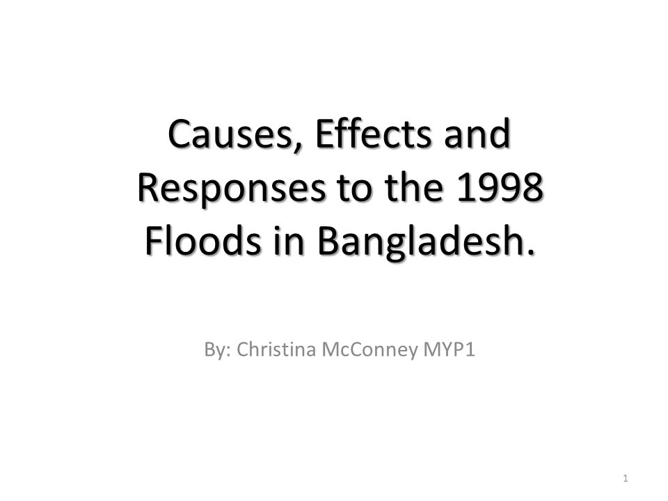 the cause and effect of flood The effects of flood damage can be categorized into three types, namely, primary, secondary and tertiary floods cause havoc to life and property of mankind.